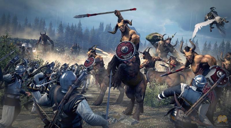 Total War Warhammer Bestie Chaosu