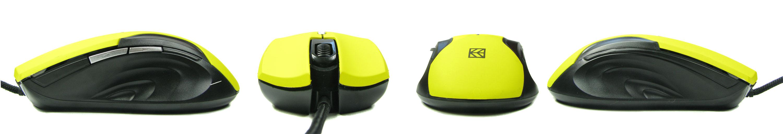 Hykker MK-04 w żółtych bojowych barwach.