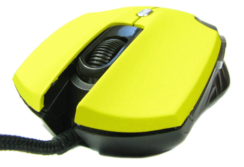 Myszka z Biedronki Hykker MK-04 nie posiada gumowych elementów chwytnych.