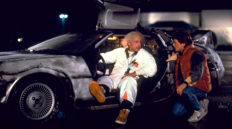 Powrót do Przyszłości DeLorean