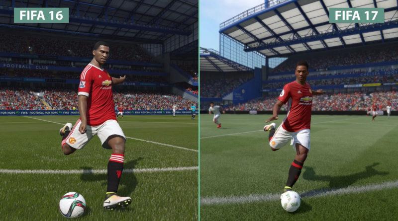 FIFA 17 vs FIFA 16