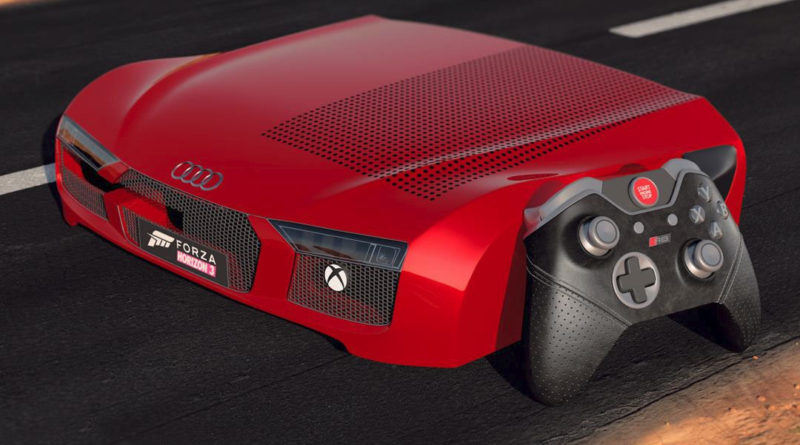 Xbox One S Audi R8 Edition
