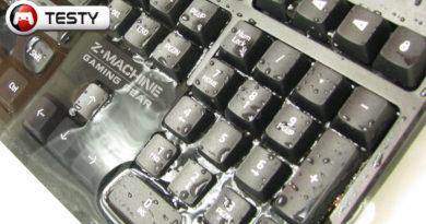 Test Zalman ZM-K650WP. Wodoodporna klawiatura dla gracza? Zapraszamy na kąpiel!