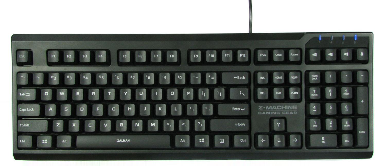 Zalman ZM-K650WP w całej okazałości.
