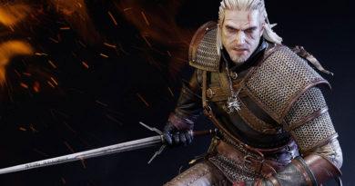 Wiedźmin 3 - figurka Geralta