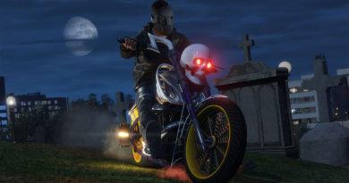 GTA Online - motocykl Sanctus.