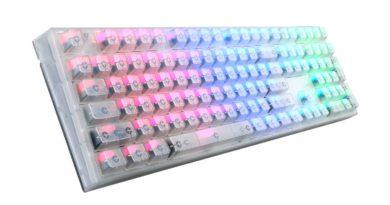MASTERKEYS PRO L - RGB - CRYSTAL EDITION