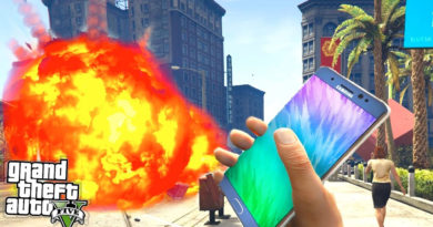 Samsung Galaxy Note 7 w GTA V