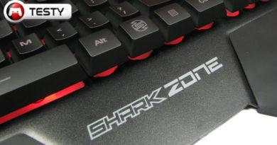 Test Sharkoon Shark Zone K20 – klawiatura dla graczy, którzy lubią ciszę