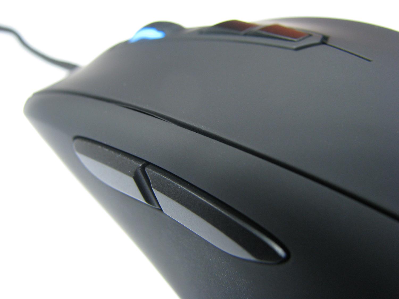 Przyciski na lewej ściance myszki spisują się znakomicie!