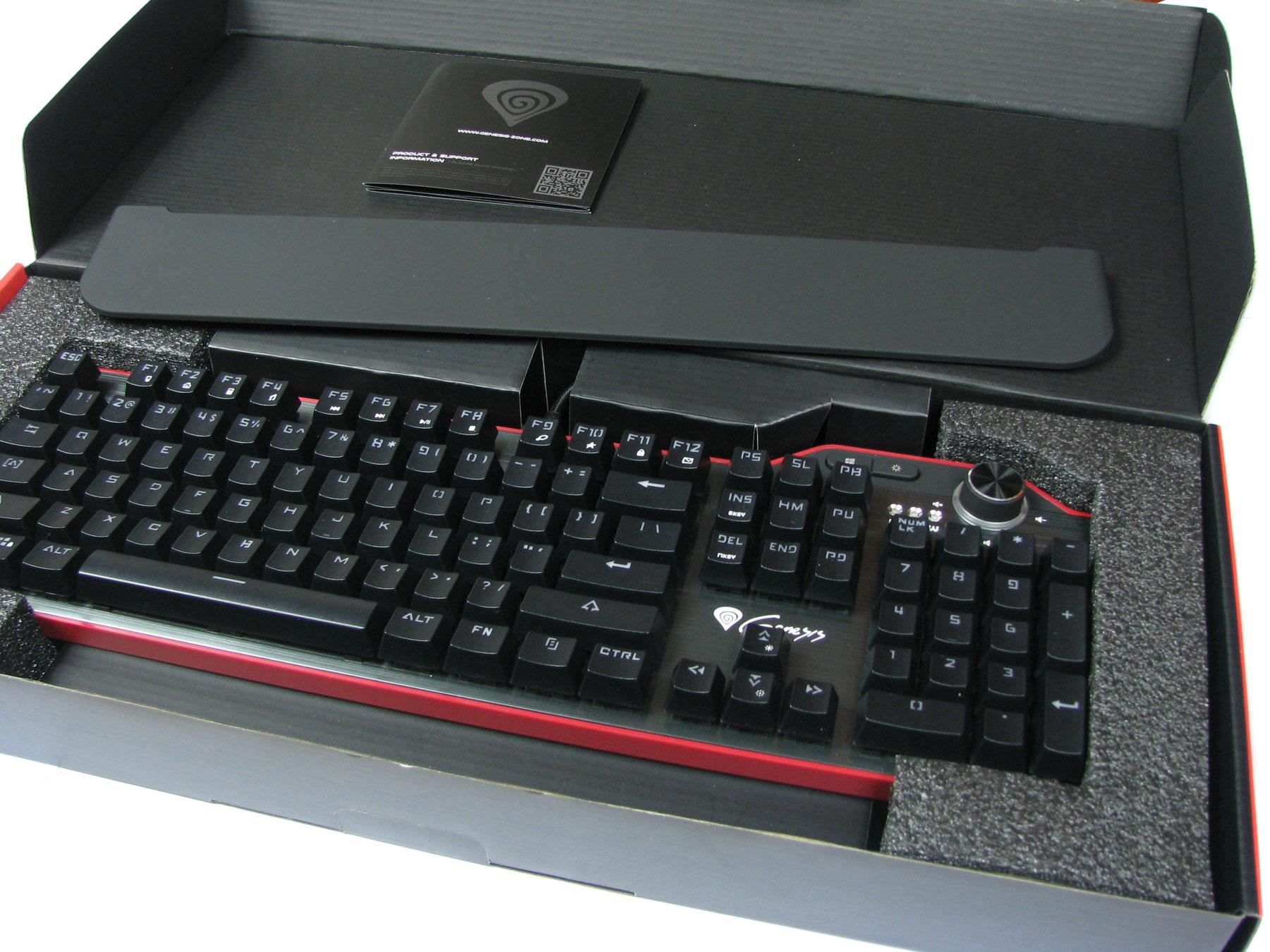 Natec Genesis RX85 - pierwsze spojrzenie na sprzęt.