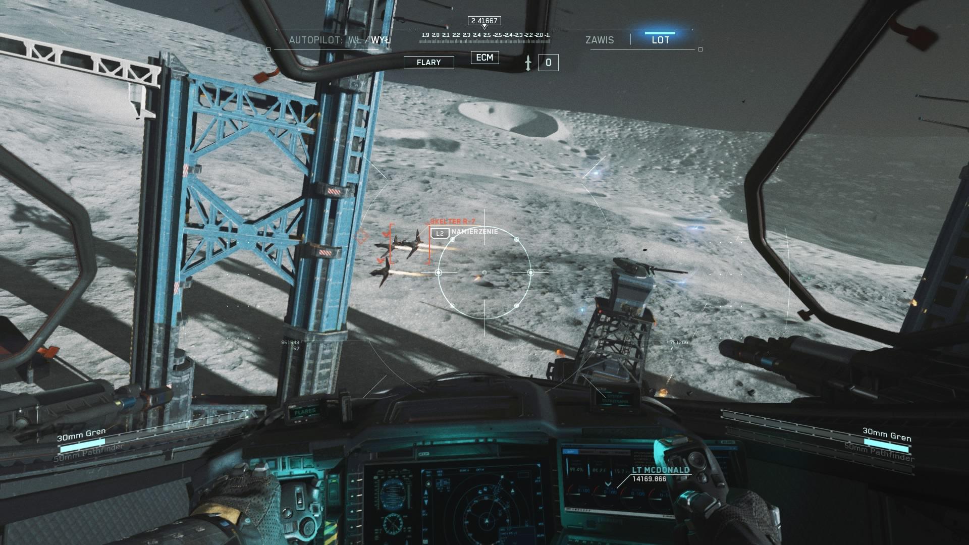 Jedna z największych nowości w grze - możliwość pokierowania statkiem kosmicznym.