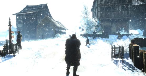 Wiedźmin 3 zima