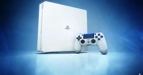 Białe PS4 Slim