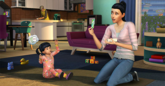 Małe dzieci już teraz w The Sims 4