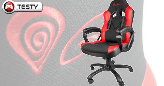 Test Genesis SX33 – tani fotel dla gracza, wygodne rozwiązania