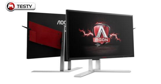 Test monitora dla graczy AOC Agon AG241QX. Szybki jak błyskawica