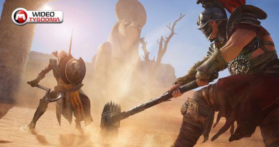 Najlepsze filmiki z gier [#118]. Główny przeciwnik w Assassin's Creed Origins oraz FIFA 18 vs. PES 2018