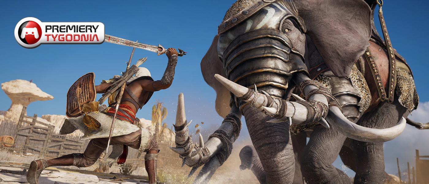 9 premier na obecny tydzień. Powrót Assasin's Creed, bohater z polskimi korzeniami i gra, która sprzeda Nintendo Switch