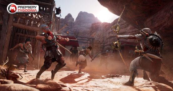 8 premier na obecny tydzień. Assassin's Creed i łapanie potworów