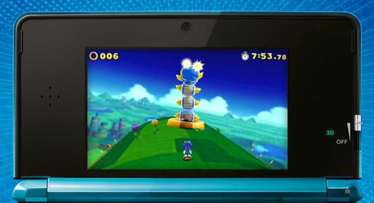sonic lost world 3ds 1
