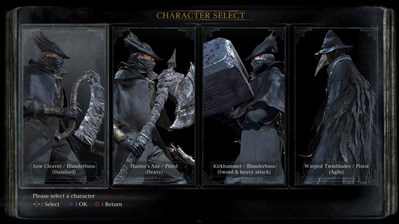 Bloodborne-klasy-postaci