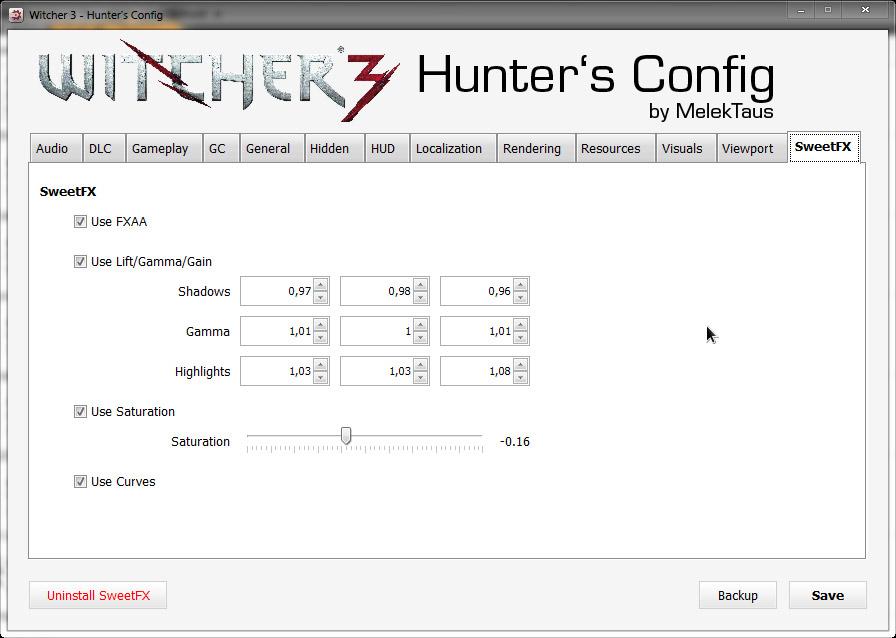 Hunter's Config