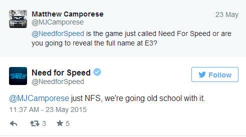 Tylko Need for Speed!