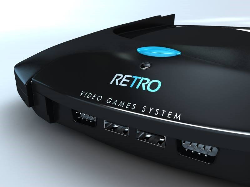 RETRO Video Games System