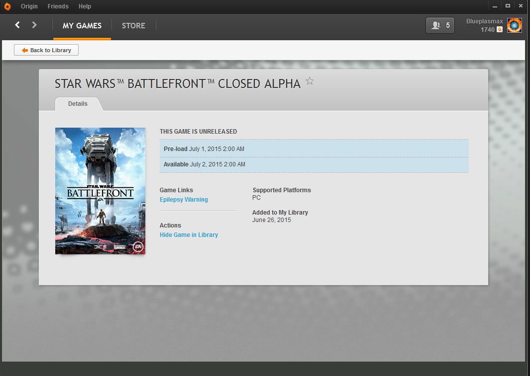 Star Wars: Battlefront - testy alpha