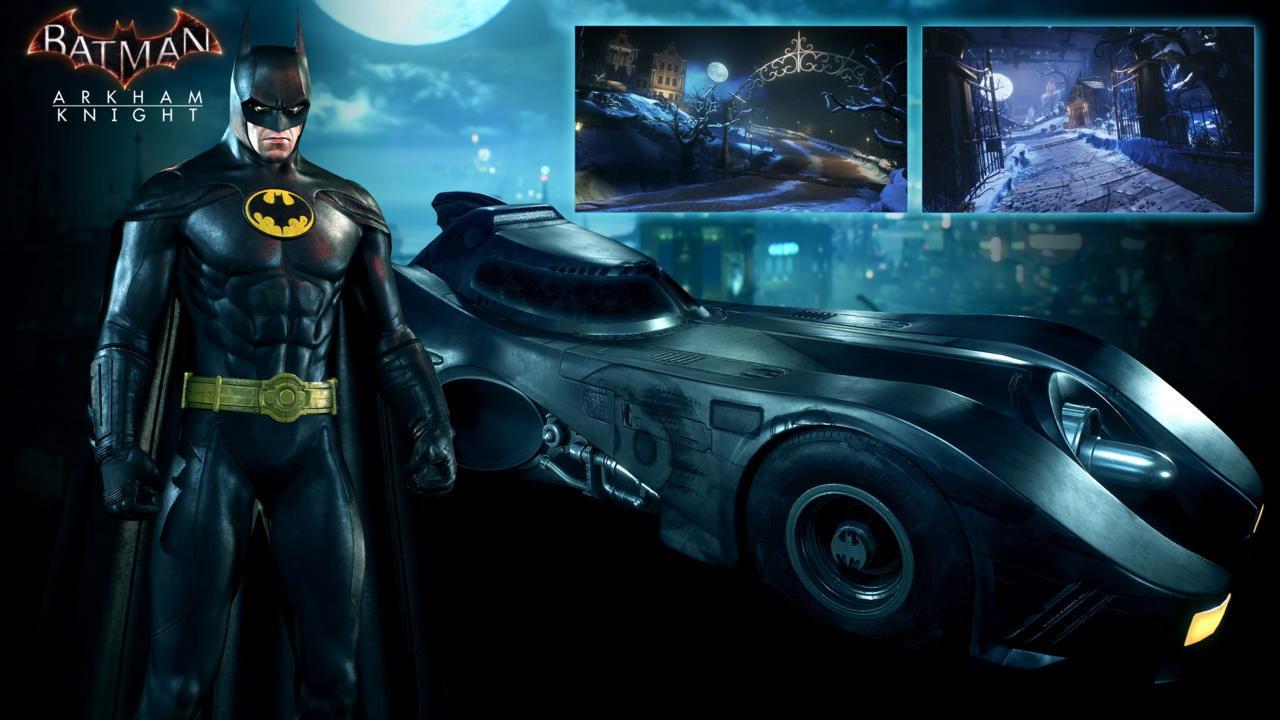 Batman: Arkham Knight - 1989 Movie Batmobile Pack