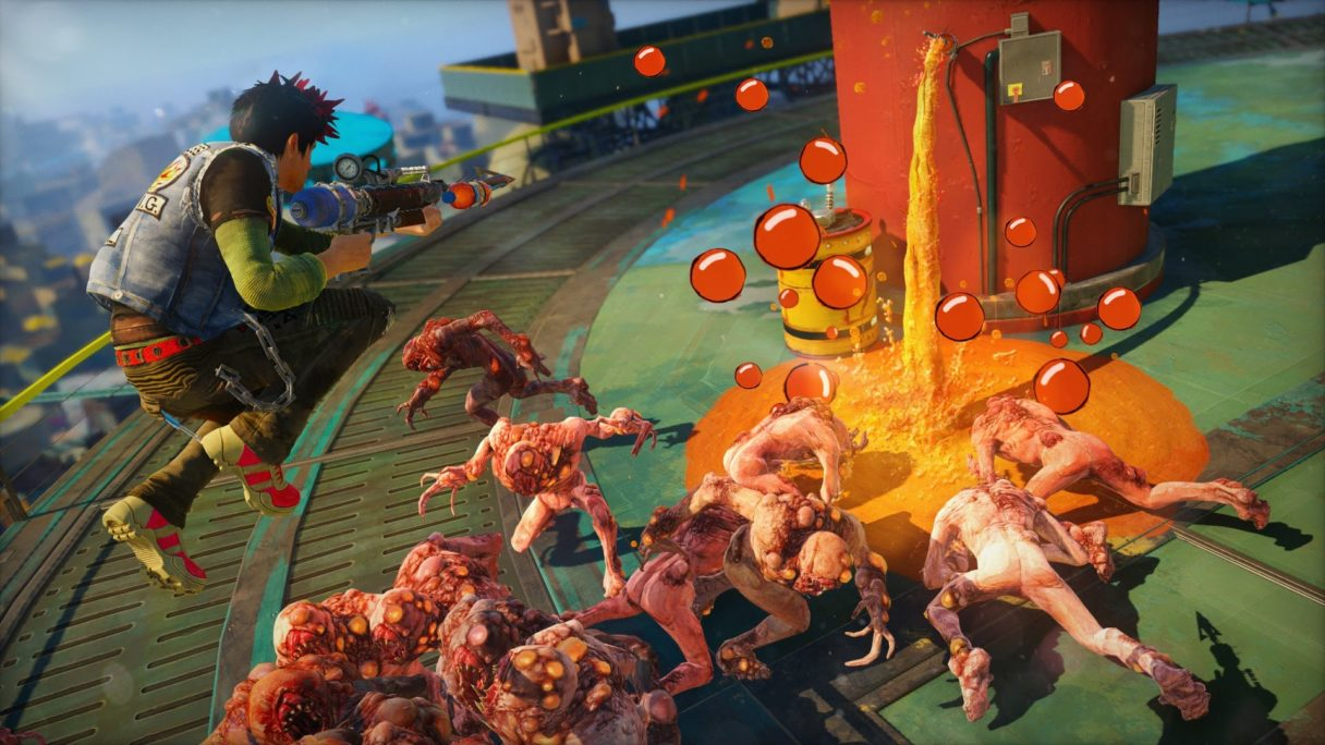 Sunset Overdrive - grafika z gry