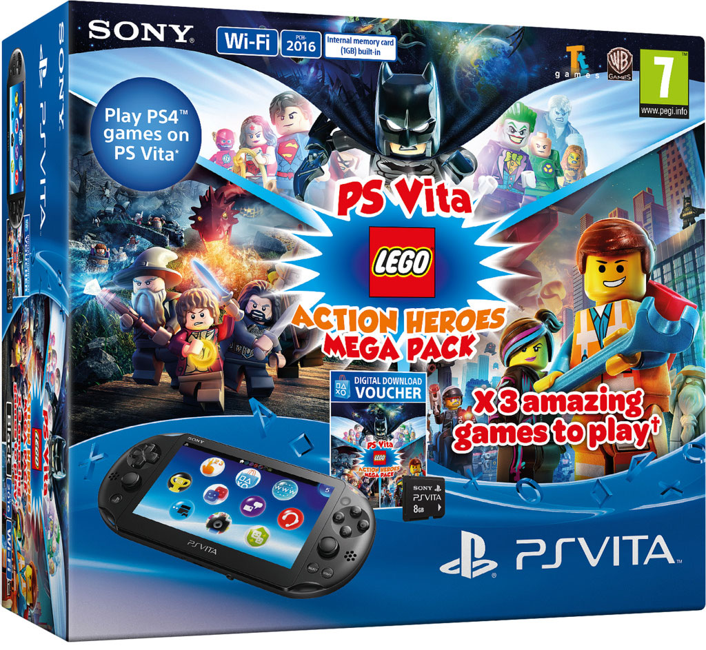PS Vita LEGO Action Heroes Mega Pack
