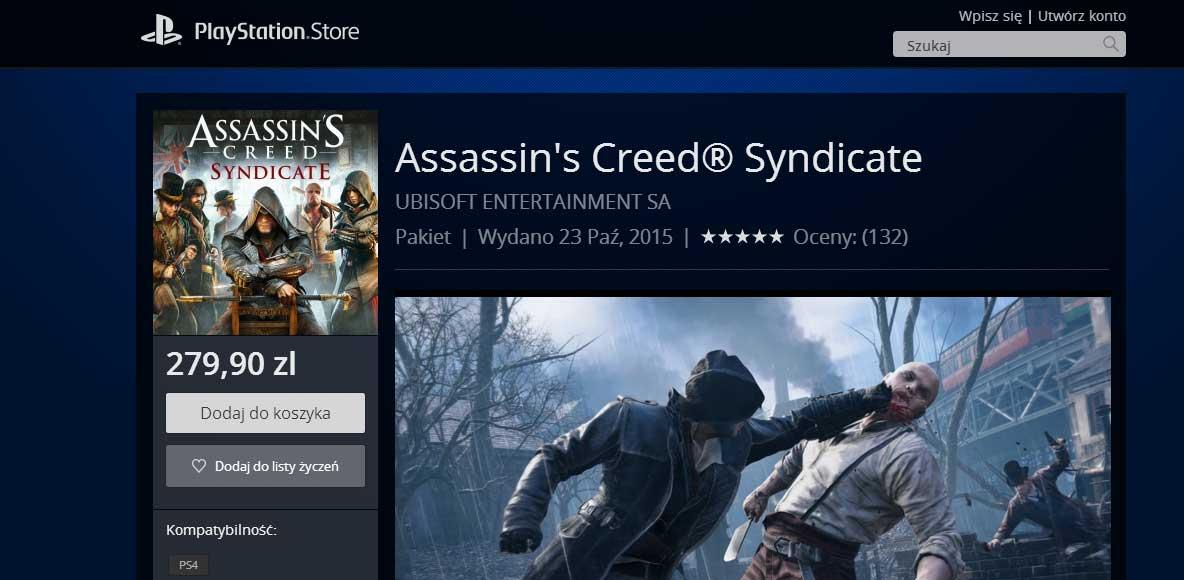 Lista Życzeń w PS Store