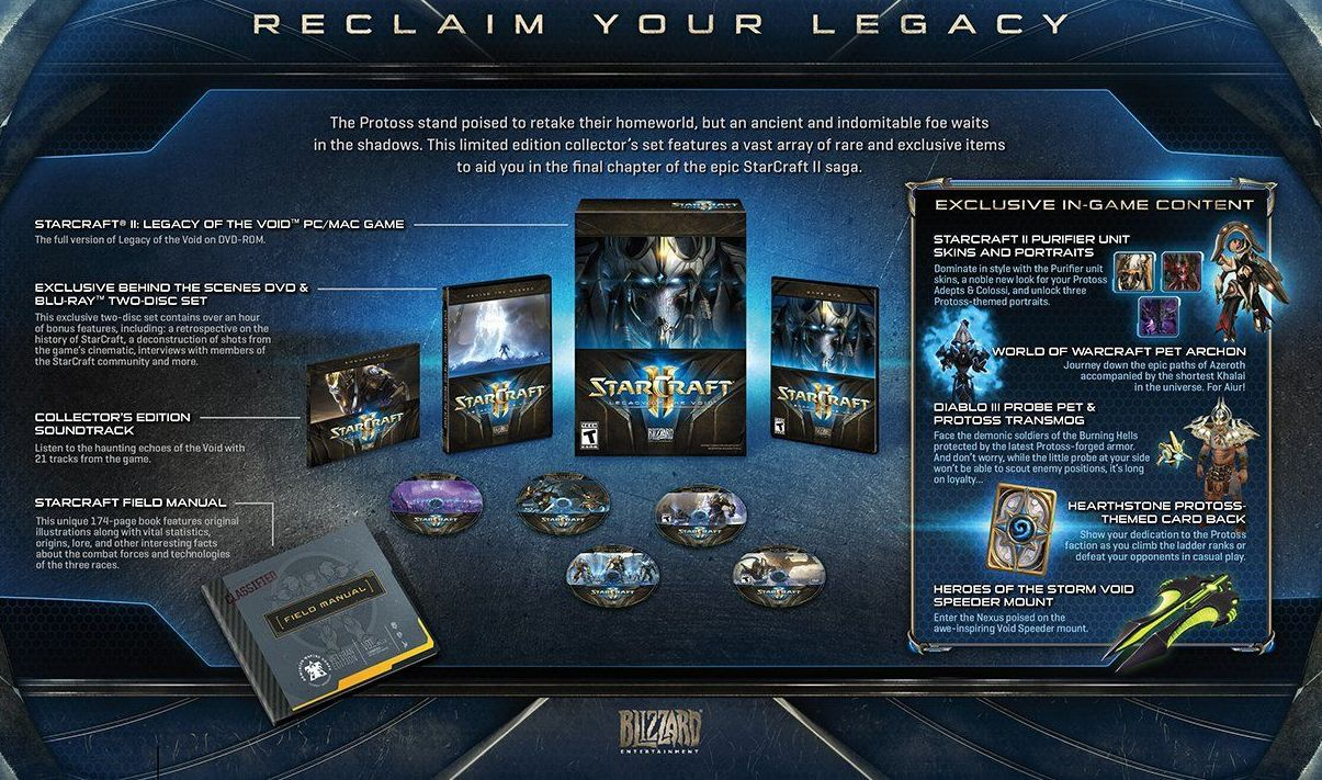 StarCraft II Legacy of the Void EK