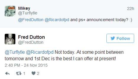 PS Plus na grudzień 2015