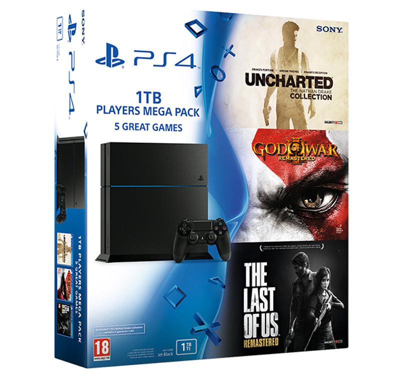 PS4 Mega Bundle
