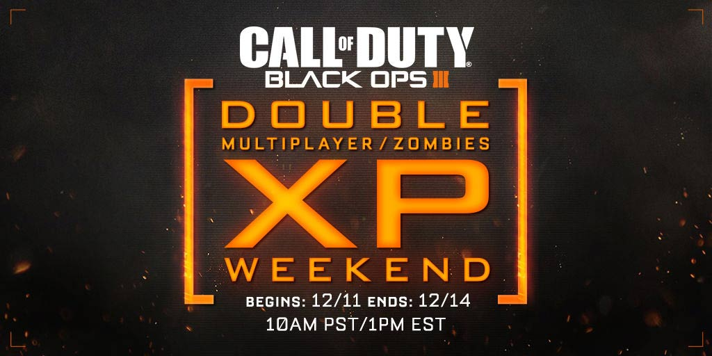 Black Ops III Double XP