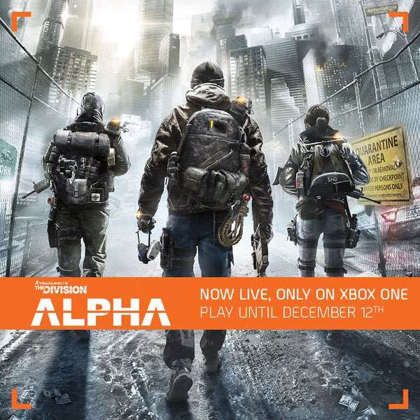 Testy alpha The Division