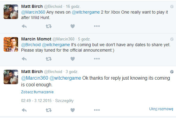 Wiedźmin 2: Zabójcy Królów na Xbox One