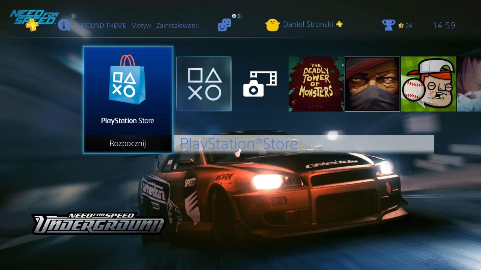NFS: Underground PS4 Theme