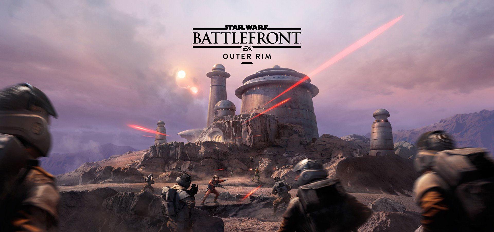DLC Outer Rim do Star Wars Battlefront