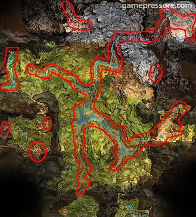 Mapa Far Cry Primal