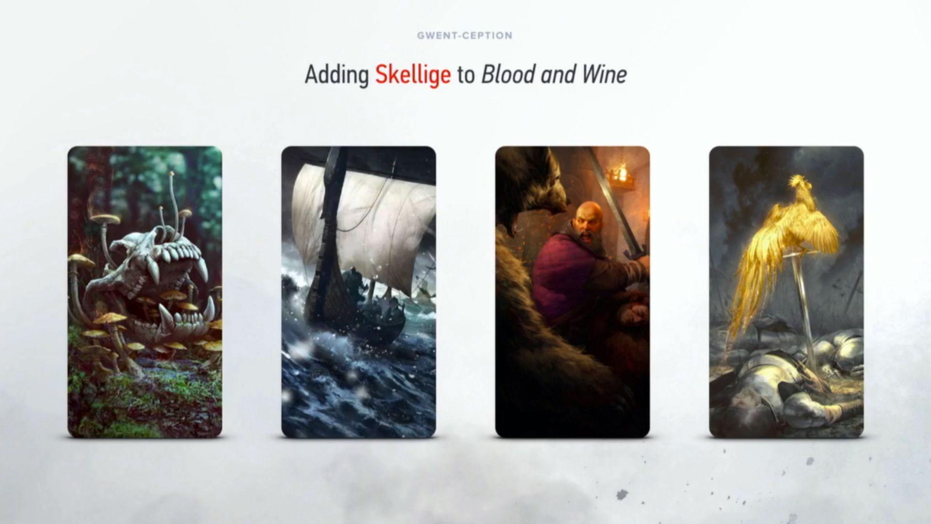 Wiedźmin 3 - DLC Krew i Wino z nową talią Gwinta