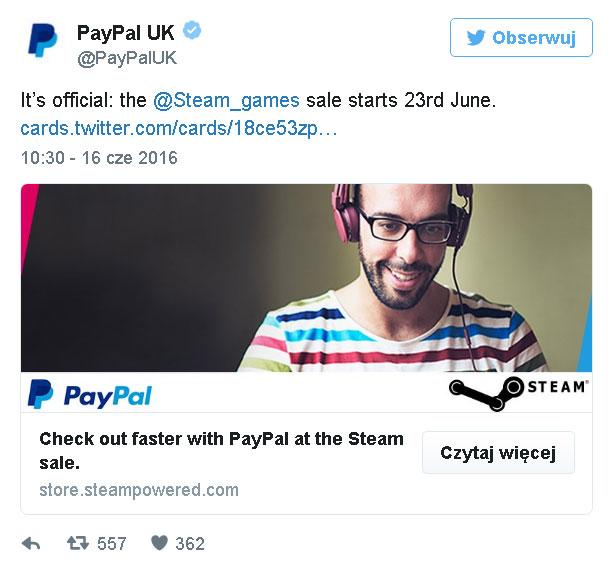 Letnia wyprzedaż na Steam 2016