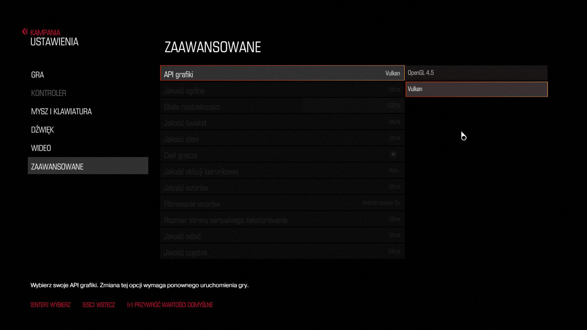 Demo DOOM już obsługuje API Vulkan