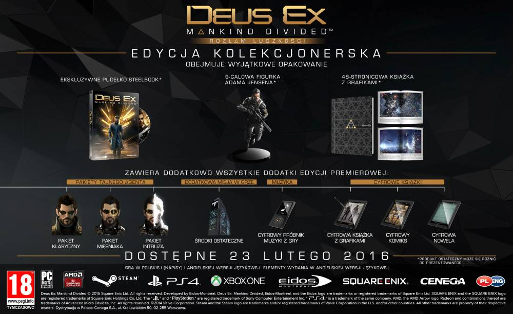 Deus Ex Edycja Kolekcjonerska