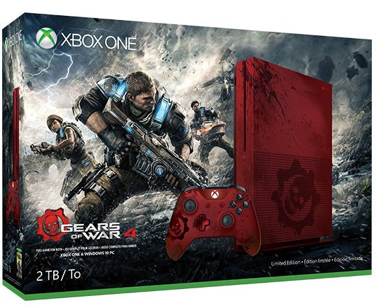 Gears of War 4 Xbox One S