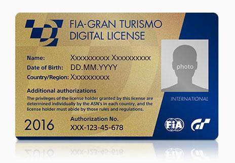 FIA Gran Turismo Digital Licence