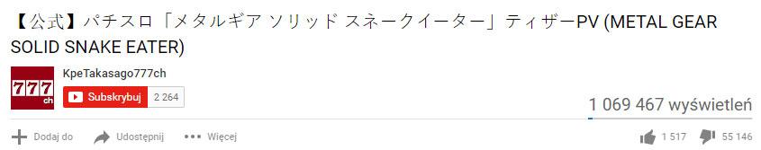 """MGS jako pachinko? Gracze są na """"NIE"""""""